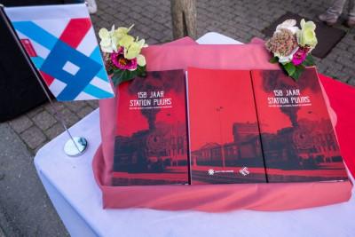 Na tentoonstelling, nu ook boek over geschiedenis van treinstation